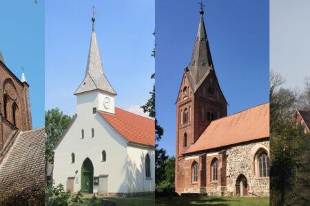 Kirchen Kemnitz Hanshagen Groß Kiesow